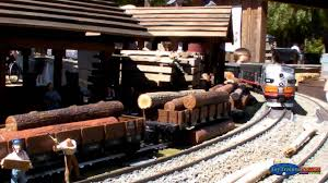 outdoor set up g scale model trains part 1