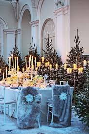 interior design cool christmas themed wedding decorations