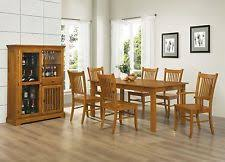 mission style dining room furniture arts and crafts mission style dining sets ebay
