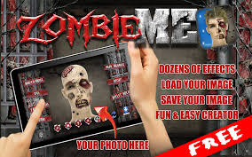 free zombie me photo maker android apps on google play