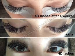 professional eyelash extension infinity lashes beauty therapist in verwood uk