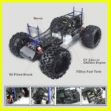 gas car petrol engine 1 5 scale gas car monster truck 1