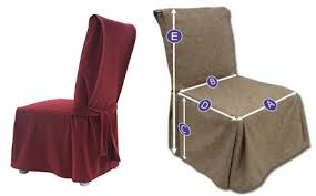 Affordable Slipcovers How To Measure Dining Chair Covers