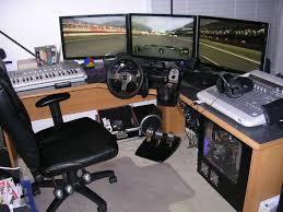 best corner desk for 3 monitors corner gaming computer desk awesome wooden onsingularity com