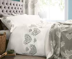 buy fairisle heart embroidered bed set from the next uk online