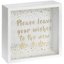 wedding wishes box lp29807 mr mrs wedding wishes box 30cm 33405 occasions