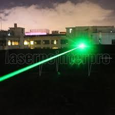 Green Flood Light 400mw 532nm Beam Green Light Double Ended Laser Pointer Black