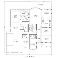 House Plans Single Level Stunning 3 Bedroom House Plans Single Story 3 Bedroom House Plan