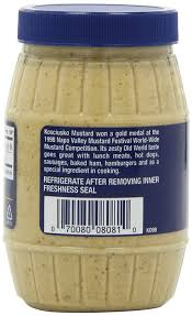 Kosciusko Water And Light Amazon Com Plochman U0027s Kosciusko Mustard Spicy Brown 9 Ounce