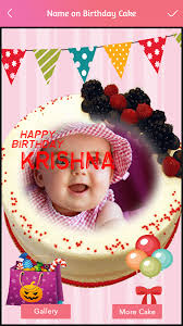 name photo on birthday cake android apps on google play