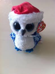 2015 beanies boos original owl plush toy christmas gift for