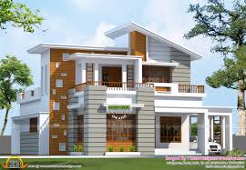 gambrel roof house plans slanting roof mix house 1600 sq ft kerala home design and floor