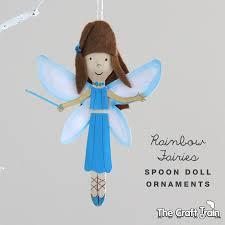 rainbow magic spoon doll ornaments the craft