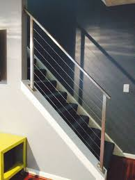 contemporary railings stainless steel cable railings u2014 hudson