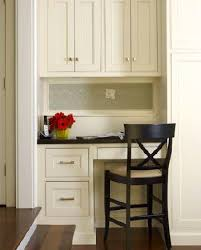 kitchen office furniture built in desk design ideas