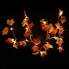 thanksgiving decorations lighted fall garland 8 2