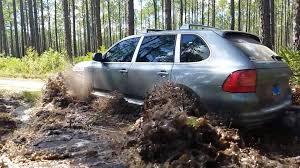 2004 Porsche Cayenne Turbo - porsche cayenne turbo off roading mud dirt u0026 water fording
