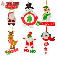 aliexpress buy tree ornaments ceramic santa claus