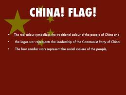 Chinese Flag Stars Meaning China By 80222