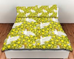 Yellow Duvet Cover King King Duvet Cover Etsy