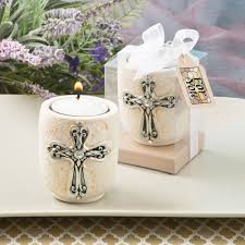 candle favors ivory religious candle favors