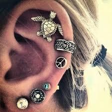 ear piercing earrings 19 best cool piercings images on piercing ideas