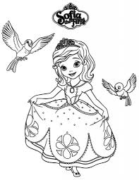 sofia the first coloring page regarding the house cool coloring