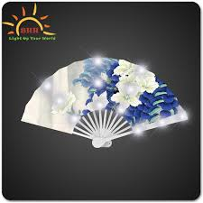 personalized wedding fans cultural intrigue battery operated led paper shade