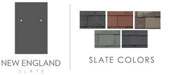 Roof Tile Colors Slate Colors New England Slate The World U0027s Finest Slate Roofing