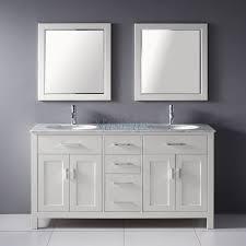 white bathroom vanities with tops home u003e 63 inch double sink bathroom vanity with marble top in