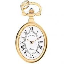 quartz necklace watch images Gold plated oval pendant watch free shipping jpg