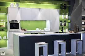 kitchens with shelves green kitchens wooden kitchen with a smart island and open shelves from