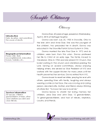 funeral obituary template 5 free templates in pdf word excel