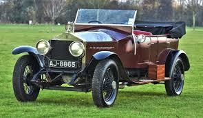 1922 rolls royce silver ghost tourer coys of kensington