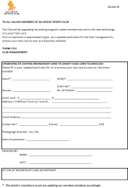 club membership form template word free printable payment receipts
