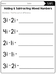Math Worksheets For 5th Grade Common Math Worksheets 5th Grade By Create Teach Tpt
