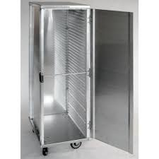 hubert aluminum full size enclosed pan rack 27