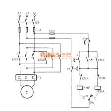 three phase motor with pre selection switch commutation circ circuit