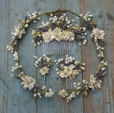 baby s breath lavender twist baby s breath hair comb the artisan dried flower