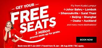 airasia singapore promo airasia free seats promo is back airasia