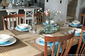 dining room table settings setting dining room table ideas casual kitchen table settings