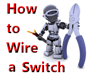 how to wire a switch switch and light at end of circuit