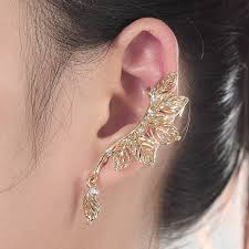 s clip on earrings 2017 trendy style fashion clip earrings with stud