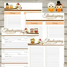 thanksgiving free printable thanksgiving menu planner with