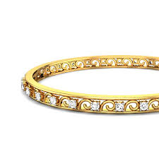 bracelet design diamond images Daily wear diamond bangles de light collection a jpg