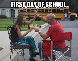 First Day Of School Funny Memes - pictures first day of school