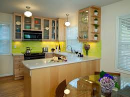 green kitchen backsplash kitchen narrow u shape green kitchen cabinet with glass door and