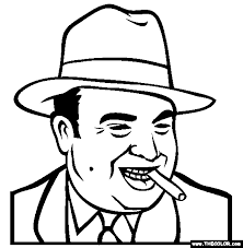 Al Capone Coloring Pages Baby Historical Figure Coloring Pages Page 1