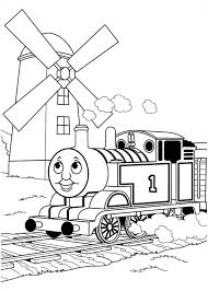 printable thomas train coloring pages kids coloring