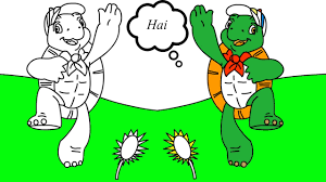 franklin turtle coloring pages coloring games songs nursery